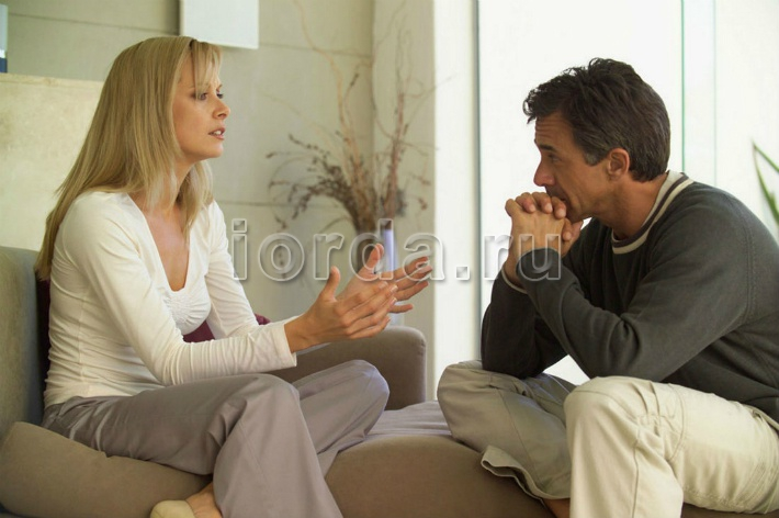 Умение женщины высказывать свою точку зрения мужу