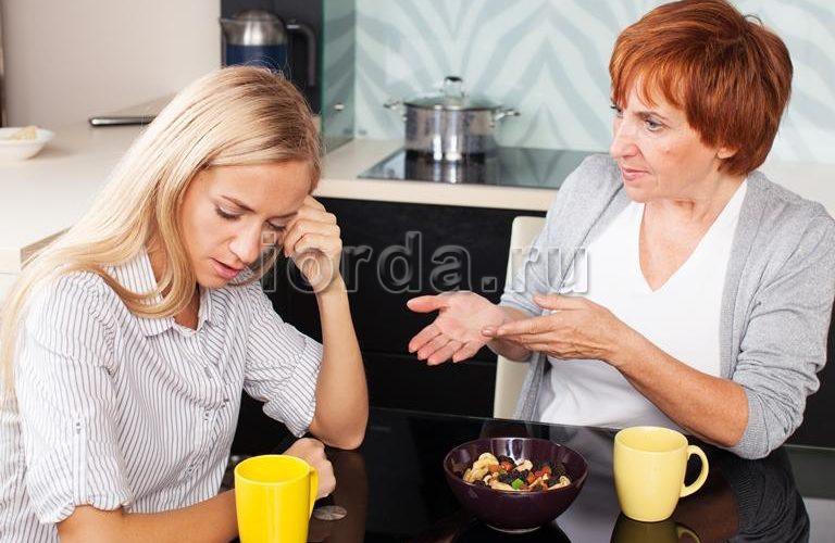 Мамы вмешиваются в семейную жизнь своих детей